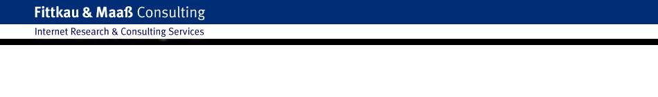 Fittkau & Maaß Consulting - Internet Marktforschung, Werbeforschung und Beratung